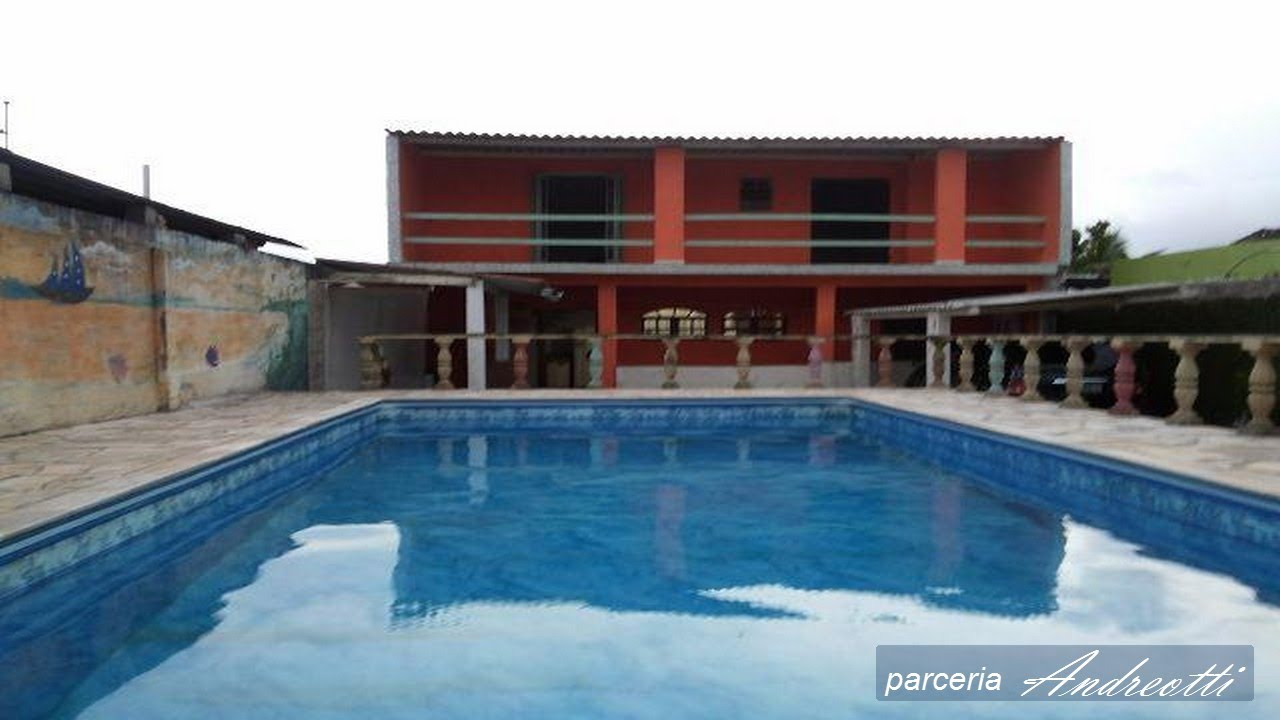 Itanhaem Casa Piscina Youtube
