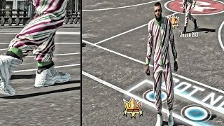 NBA 2K15 MyParks - Trying To Cop Legend Blue 11