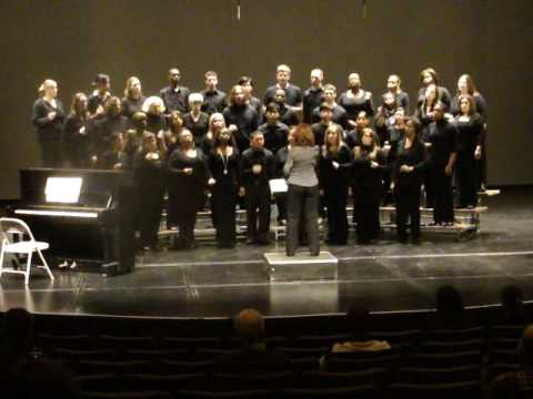"""""""Sixteen Tons"""" performed by Rutgers University Singers"""