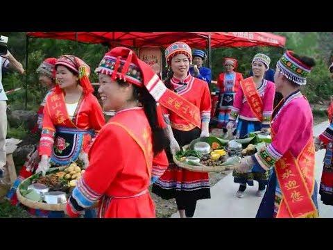 The customs of the Huashan Yao in Hezhou City of #Guangxi,China.
