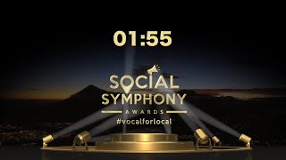 The Social Symphony Awards is now LIVE  !!
