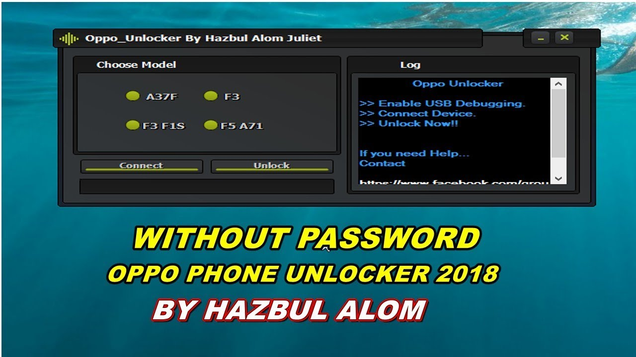 How to unlock OPPO a37/a37f/f3/f3 f1s/f5 a71 PHONE  2018,pattern,network,pin, WITHOUT PASSWORD