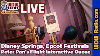 Disney Springs, Epcot Festivals, Peter Pan
