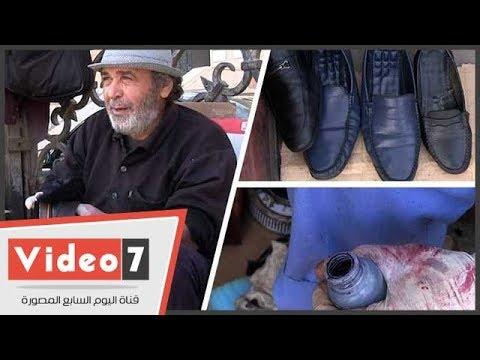 عم محمود -بوهيجى- بشهادة جامعية وثقافة نادرة: -الرك على الدماغ-.. تعلمت أصول المهنة على يد اليهود  - 11:21-2018 / 2 / 17