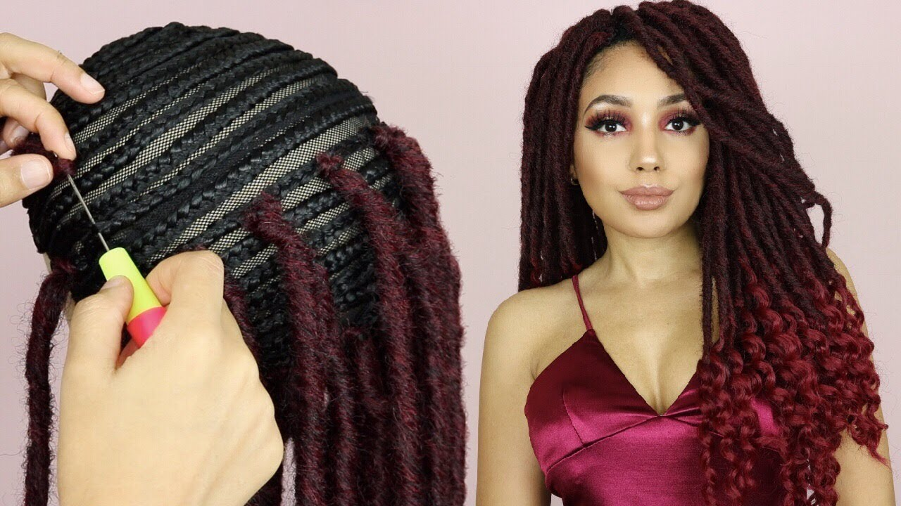 MAKING A DREADLOCK WIG With Mane Concept Gypsy Locs