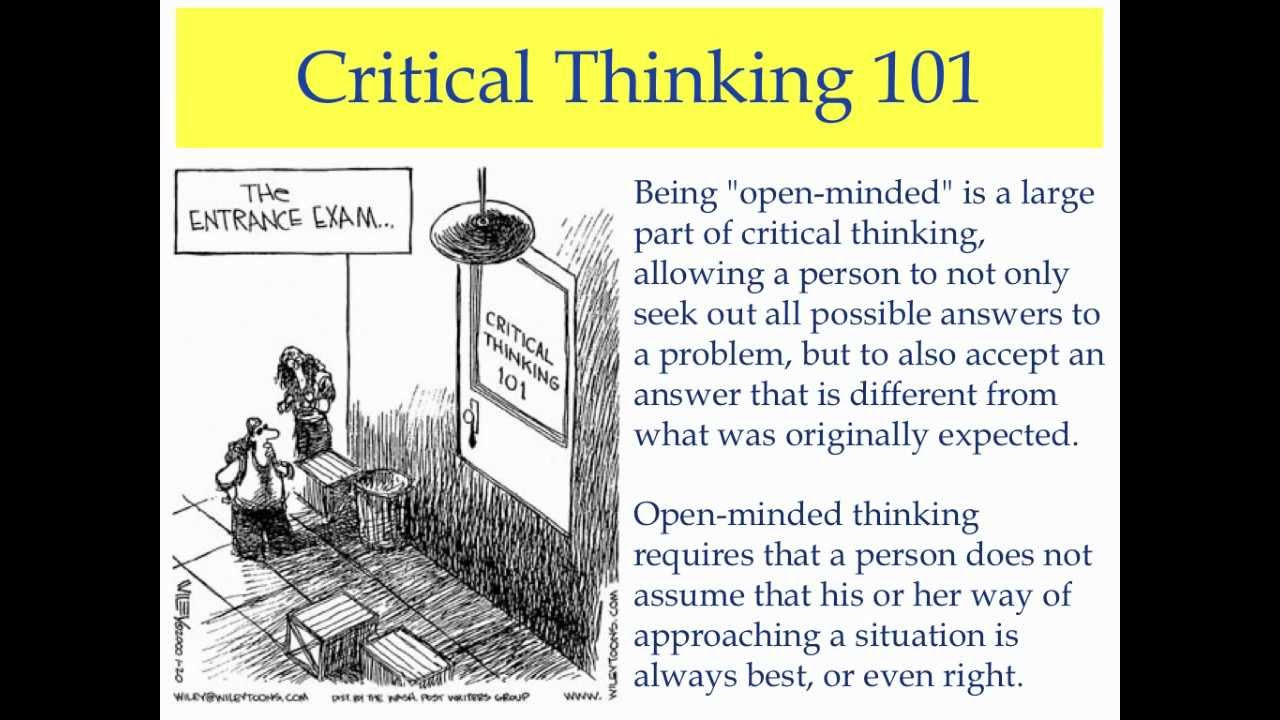 critical thinking webster