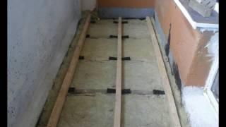 видео Деревянный пол на балконе своими руками: как правильно сделать