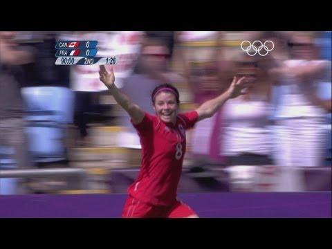 Canada 10 France  Women's Football Bronze Medal Match  London 2012 Olympics