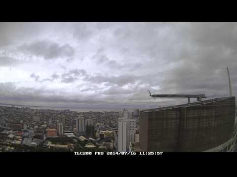 glenda in manila (typhoon time lapse hd)