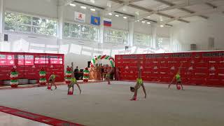 Выступление групповое с мячом Кубок Локомотив