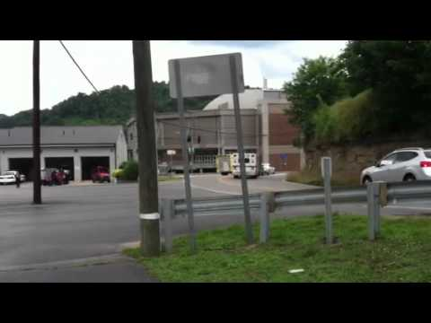 Pikeville ,KY  Fire Dept. Responding To Call