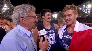 Mondiaux d'athlétisme : Mayer