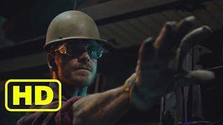 Магнето спасает рабочего на заводе. Люди Икс: Апокалипсис. 2016