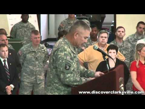 Major General John F  Campbell, 101st Airborne Division Commander returned  to Fort Campbell May 20th