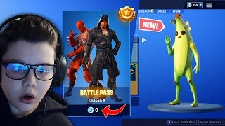 I BOUGHT THE NEW BATTLE PASS OF SEASON 8 ON FORTNITE!