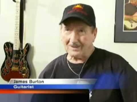 James Burton  Heart of Louisiana  La  Hayride and Elvis   New Orleans News, Breaking News, Sports   Weather   FOX 8 Live WVUE TV Channel 8