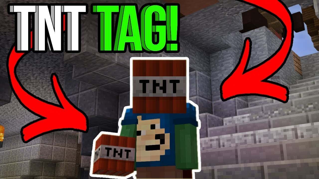 ITS A TAG PARTY Minecraft Hypixel TNT Games TNT Tag YouTube - Minecraft tnt spiele