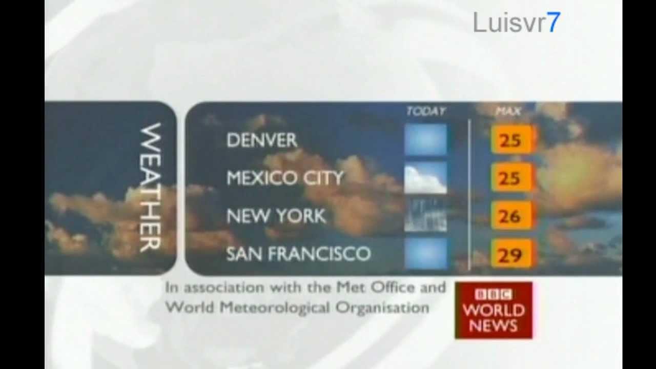 BBC   World News Channel 2011
