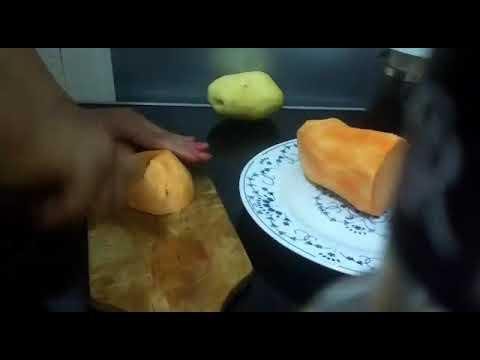 patate-douce-en-purée-et-escalope-de-veau-pané