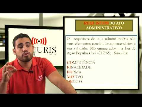 Atos Administrativos - Direito Administrativo - Geraldo Neto