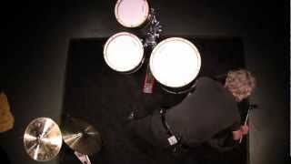 Flame Danmar Percussion Tom Kick Riser