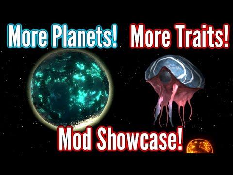 SALT Worlds?! | Stellaris Mod Showcase | Planetary/Species Diversity + Tiny Outliner V2