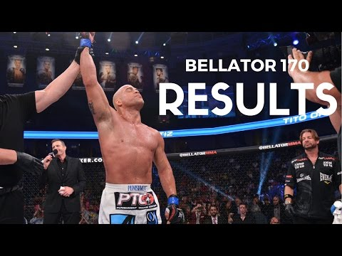 Bellator 170 Results: Tito Ortiz Submits Chael Sonnen in the First Round