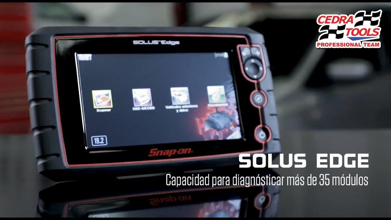 Escáner Automotriz Solus Edge Snap On Versión México 19 2