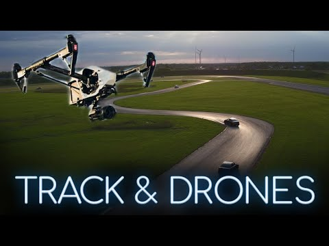 TRACK DAY with a Honda Element, Lexus ISF and Race Drones – Yuri and Jakub Go For a Drive