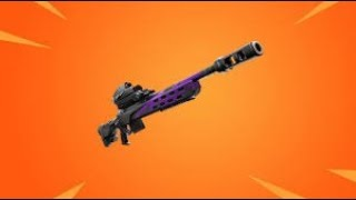 how to get the new UNRELEASED STORM SCOUT SNIPER. fortnite