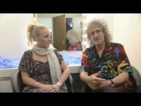 Brian May Kerry Ellis Interview Sheffield City Hall 6 May 2011