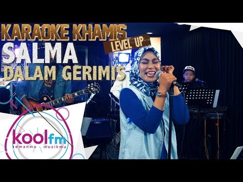 SALMA - Dalam Gerimis - Visa Cover | Karaoke Khamis Level Up!