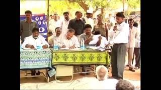 Mallu Bhatti Vikramarka participated in 'Prajapadam' at Mutharam Village , Khammam District