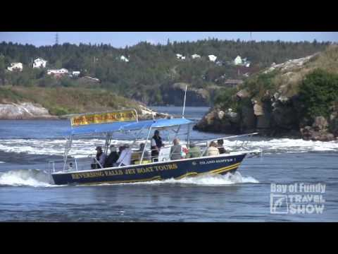 Bay Of Fundy Travel Show #4 - Reversing Falls, New Brunswick