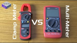 Multimeter Vs Clamp Meter - Plus a little on safety