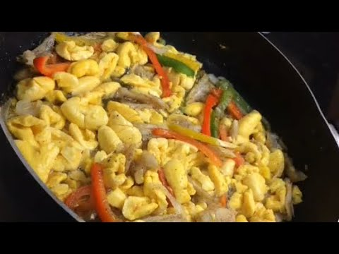 THE BEST Jamaican Ackee & Saltfish - How To Cook Ackee And Saltfish Quick & Easy