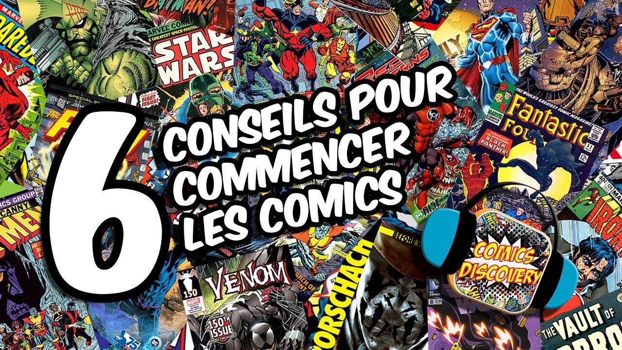 ComicsDiscovery : 6 conseils pour commencer les comics
