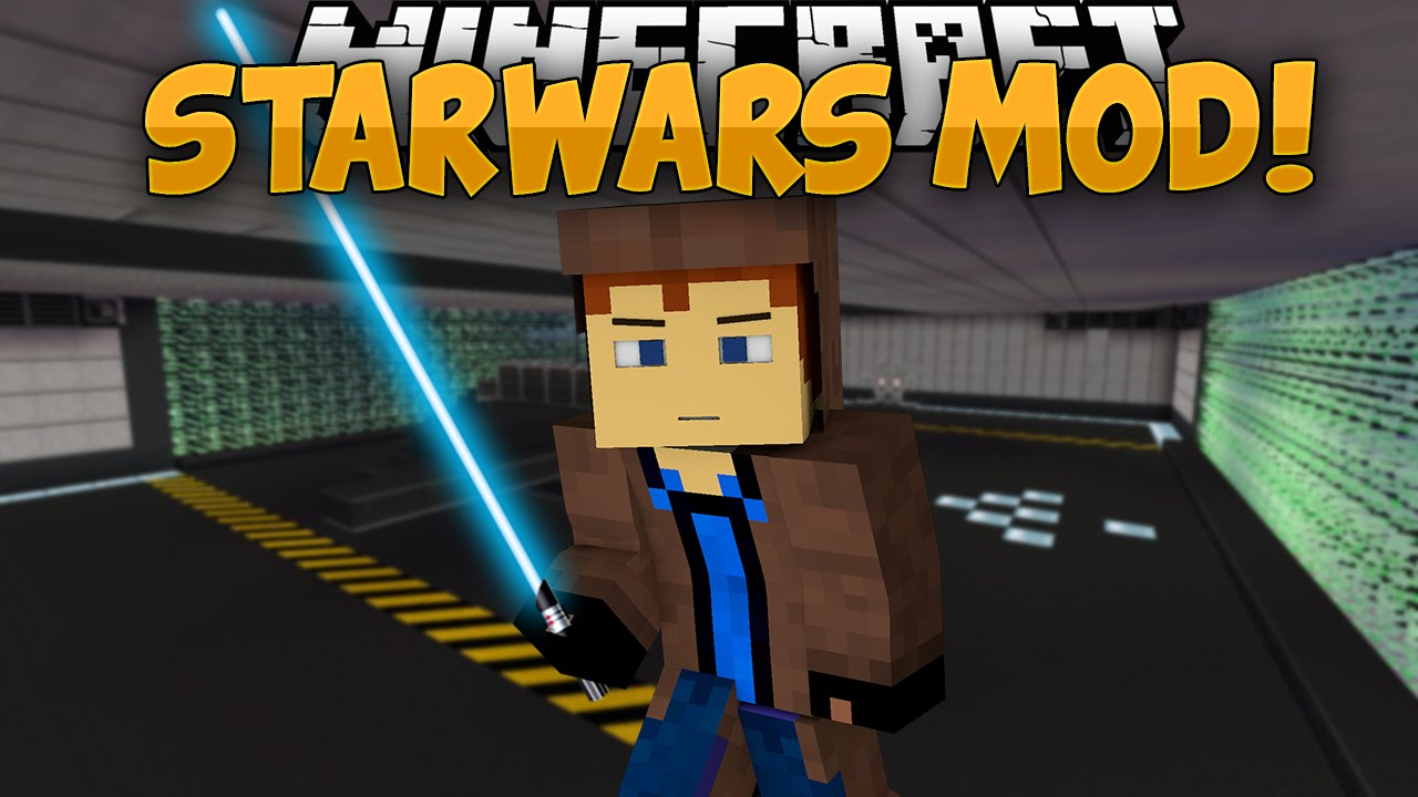 Minecraft Mods Star Wars Mod Lightsabers The Force