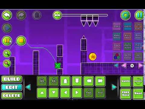Geometry Dash - Secret Coins In 2.1 Editor And Play [No Cheat Engine]