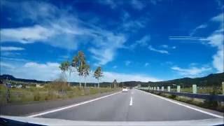 北海道、道央道、岩見沢P-旭川北IC(車載動画)