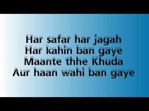 Hasi Ban Gaye Lyrical Karaoke Track   Hamari Adhuri Kahani   Raunak Tiwari