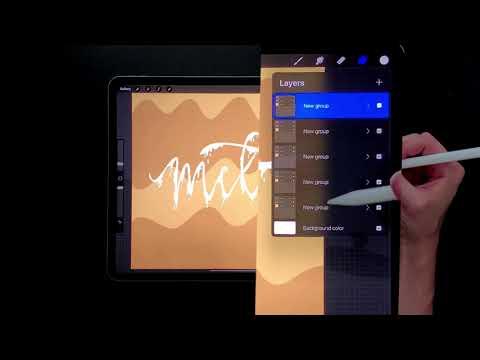 Create a Basic Animated Gif in Procreate