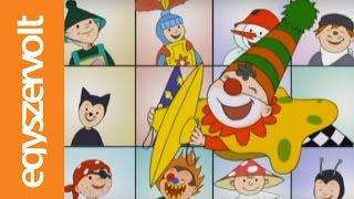 Gryllus Vilmos: Bál, bál, maszkabál (teljes filmek, rajzfilmek, gyerekdal, gyerekeknek)