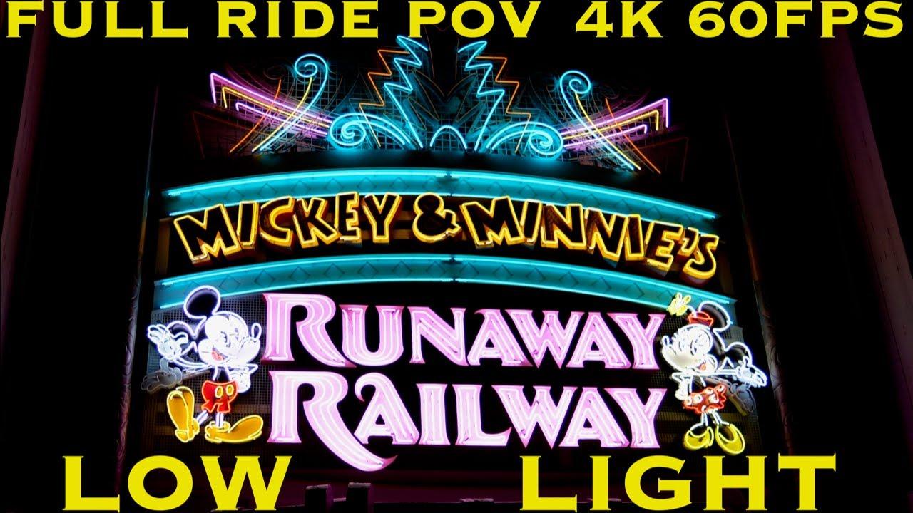 SPOILERS: Mickey & Minnie's Runaway Railway
