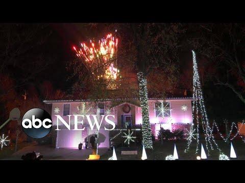 JJ Ryan - WATCH: Taylor Swift Themed Christmas Light Display Goes Viral