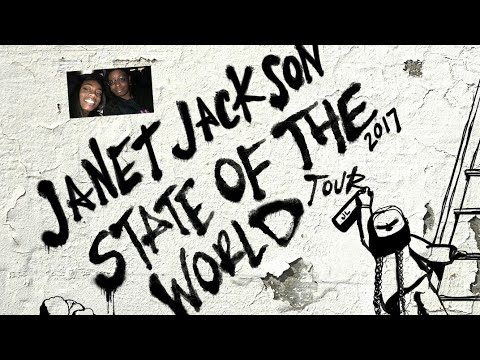 Janet Jackson State Of The World Tour 2017 /Jacksonville Fl