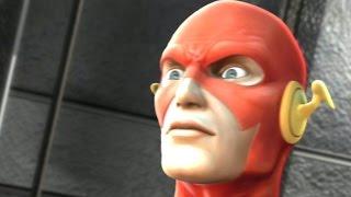 Justice League Heroes - Walkthrough Part 5 - Episode 3 Part 1: Arctic Communications Facility