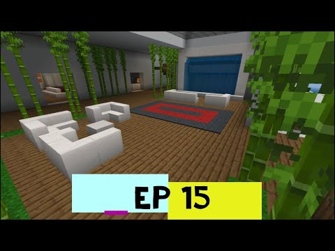 Building my Dream House in Minecraft! Episode 14 - Lounge