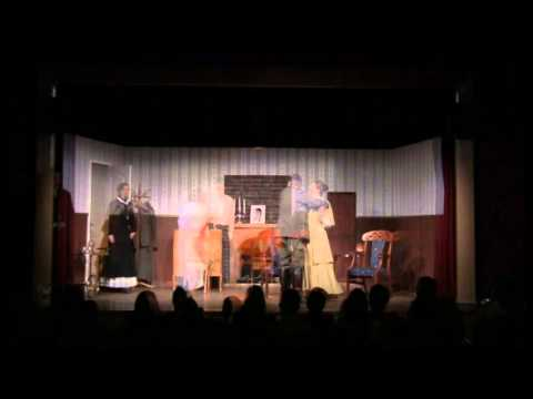Tellusensemblen i Linköping spelar Fadren av August Strindberg