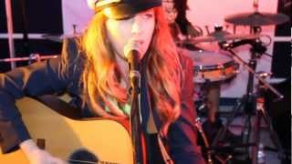 ZZ Ward sings Til the Casket Drops aboard Hornblower Cruises and Events with KPRI fm